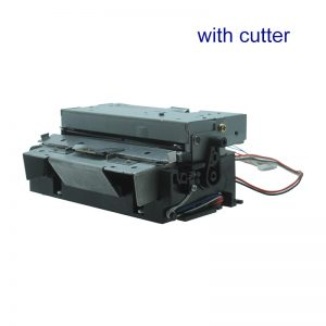Printer Mechanism With Cutter